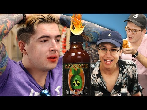 THE SPICE GAUNTLET • Hot Ones Sauces & Fiery Noodles