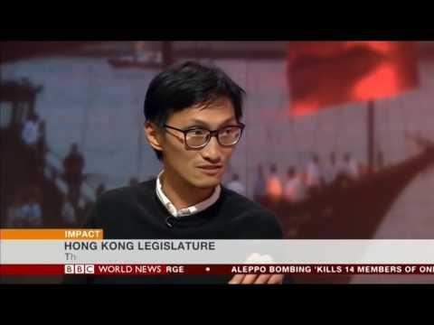 【#廸在英國:BBC World News Interview with Eddie Chu Hoi-dick 朱凱廸專訪】