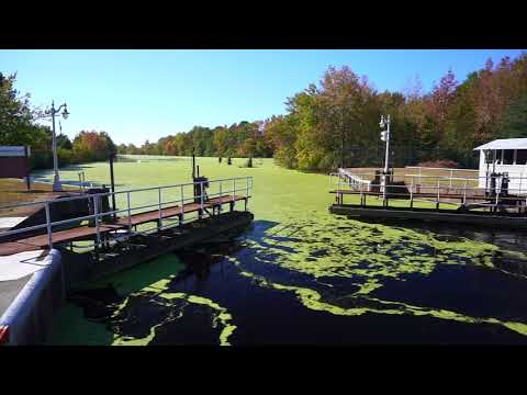 Dismal Swamp Canal, Re-Opened, November 2017 Transit