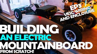 How to Build An Electric Mountain Board - VESC Wiring