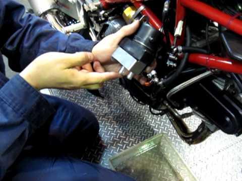 Ducati Starter Rebuild