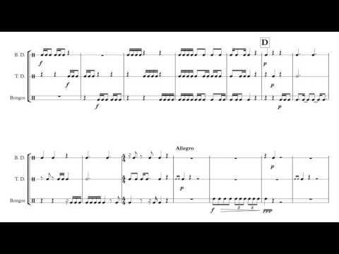Trio for Percussion - Graeme Culpepper