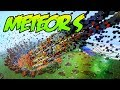 Minecraft Mods ! METEOR MOD - Falling Rocks, Explosions, Aliens & Space Cats