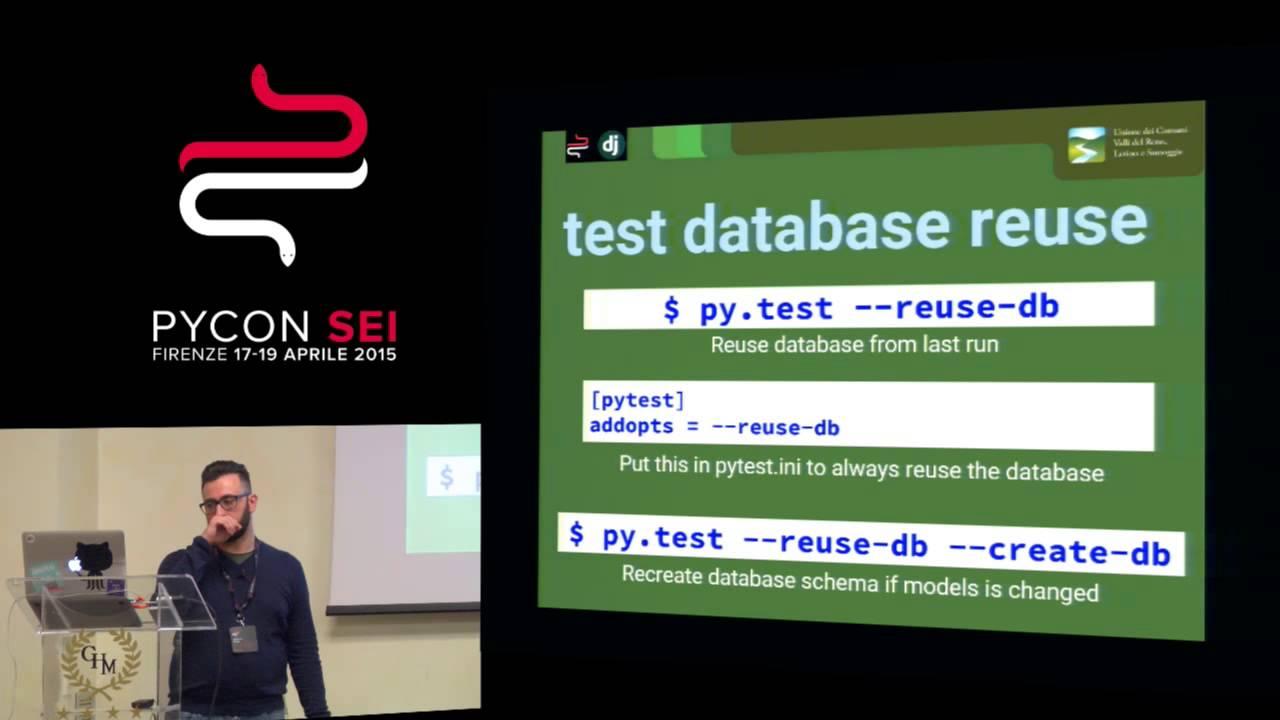 Image from Testing di applicazioni Django con pytest