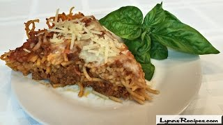 Spaghetti Pie - Lynn's Recipes