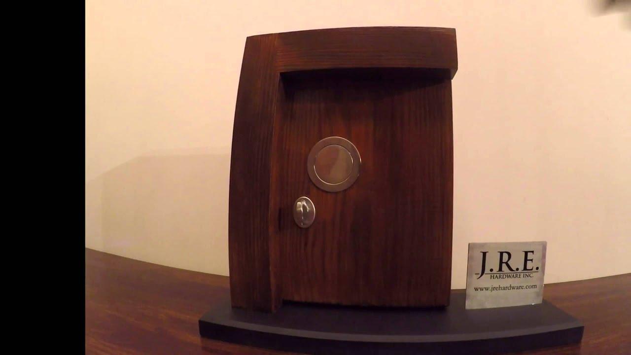 Flush Mount Door Handle - YouTube