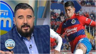 Víctor Guzmán sería dado de BAJA de CHIVAS de Guadalajara, volvería a Tuzos del Pachuca | ESPN AM