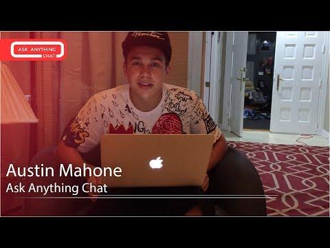 Austin Mahone Interactive Chat w/ Romeo Saturday Night Online - AskAnythingChat