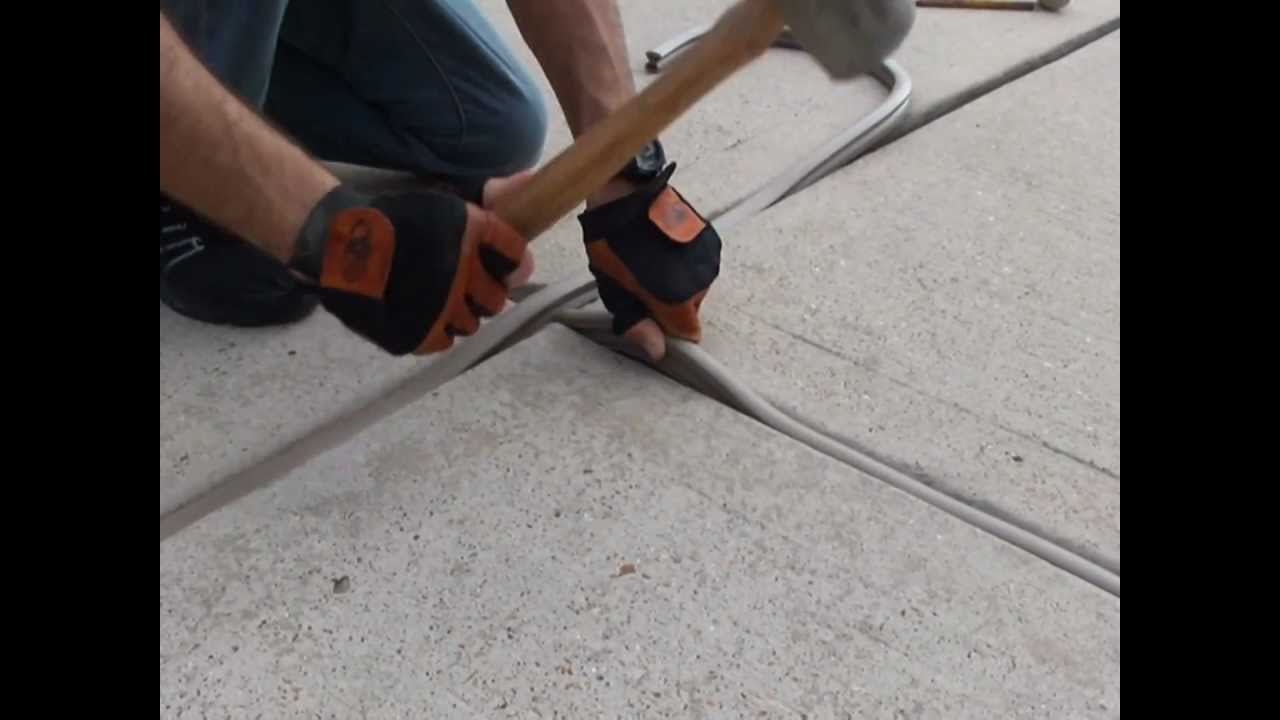 Filling expansion joints by gaparmour youtube