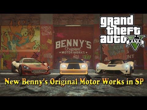New Bennys Original Motor Works in SP 1.5.4