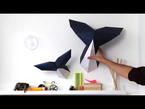 How to make a paper whale | Assembli Papercraft DIY