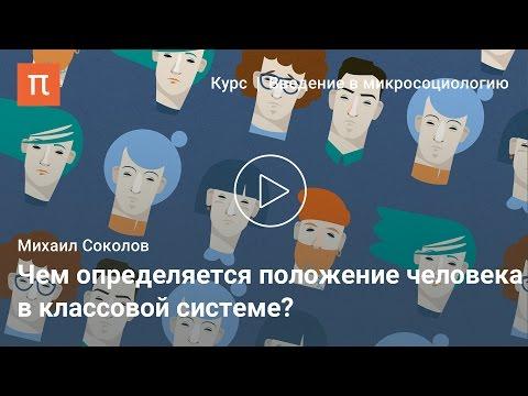 Символы классового статуса — Михаил Соколов
