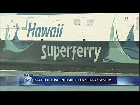 Could the Superferry make a comeback? State explores return of interisland system