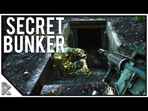 SECRET BUNKERS ON WOODS, FULLY KITTED M4 (Escape from Tarkov Gameplay) #11