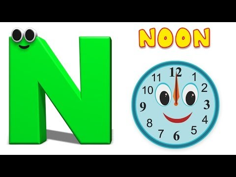 Phonics Letter- N | Alphabet Nursery Rhymes For Children | Cartoons For Todders by Kids Tv