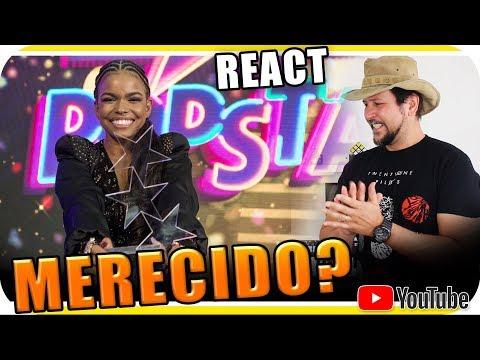 "JENIFFER NASCIMENTO VENCE ""REAL MOTIVO"" POPSTAR 2018 - Marcio Guerra React"