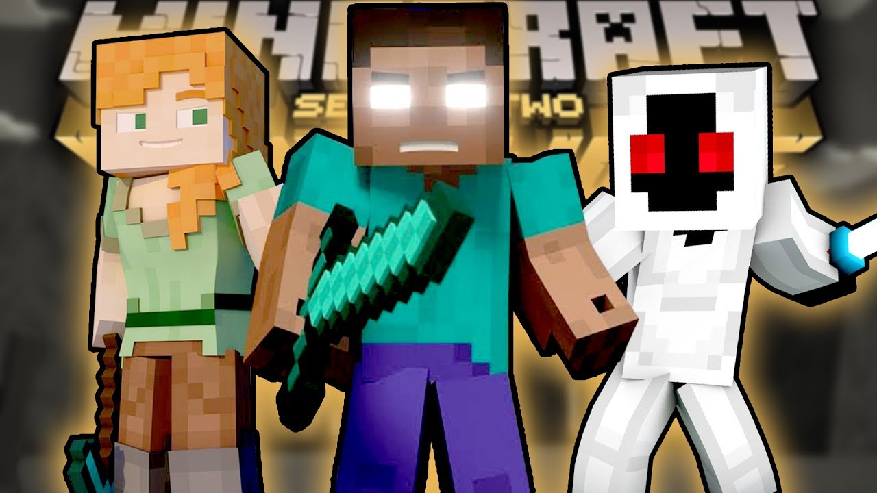 Herobrine Entity 303 And Alex In Minecraft Story Mode Season 2