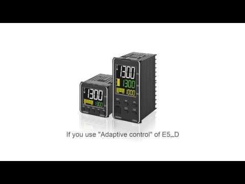 E5_D Temperature contoller: Adaptive control algorithm