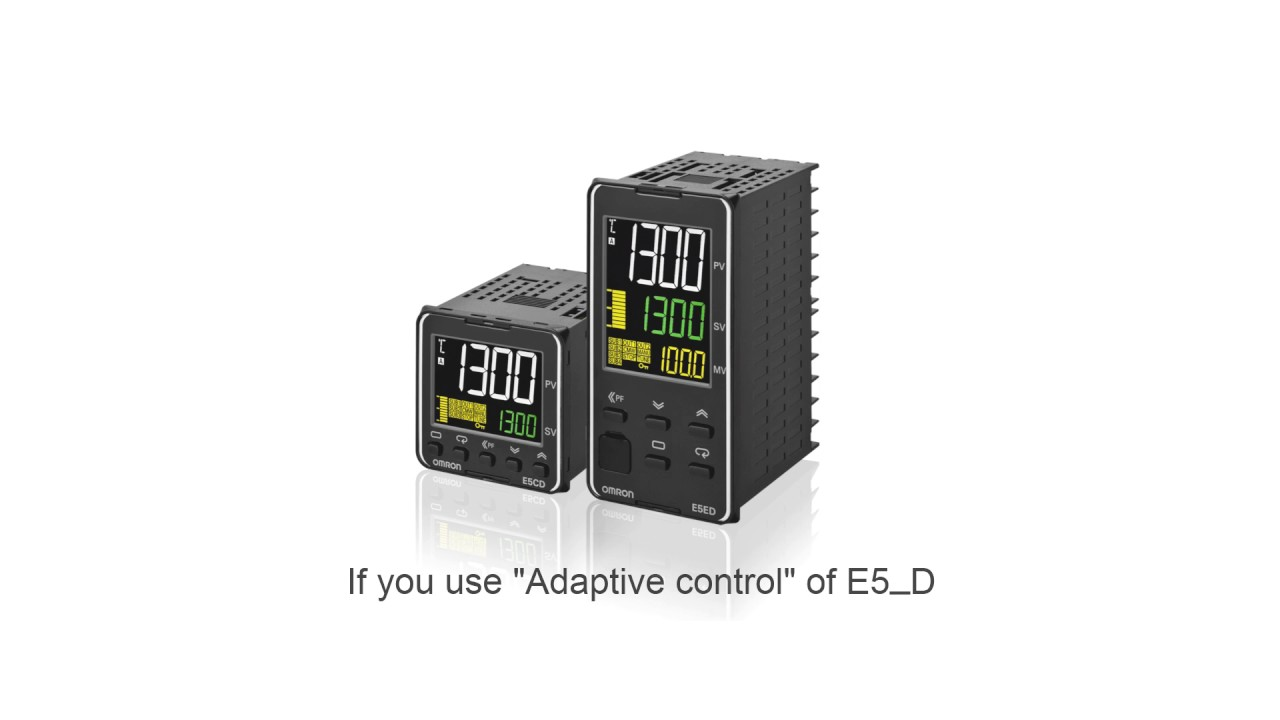 E5_D Температурный контроллер: алгоритм адаптивного управления