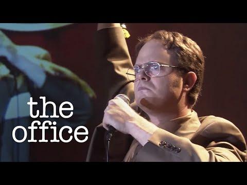 Dwight's Big Speech!  The Office US