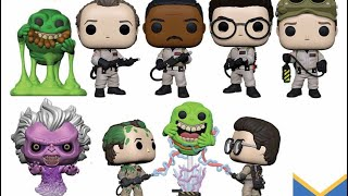 Funko Pop Ghostbusters, jaws , Pet Semetary and more revealed