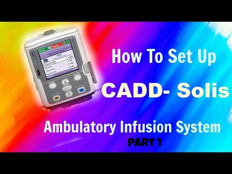 Setting Up The CADD-Solis Ambulatory Infusion Pump Part 1