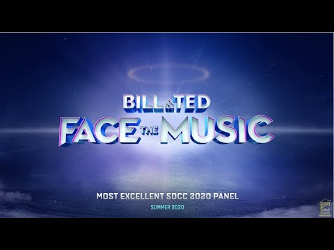 BILL & TED FACE THE MUSIC Comi-Con at Home
