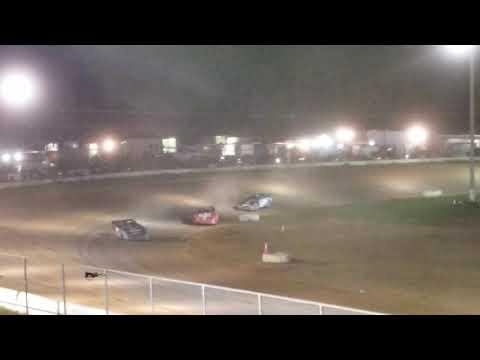 Wendell Pinckney September 29, 2018 McKean County Raceway Crate Late Model B Main 2