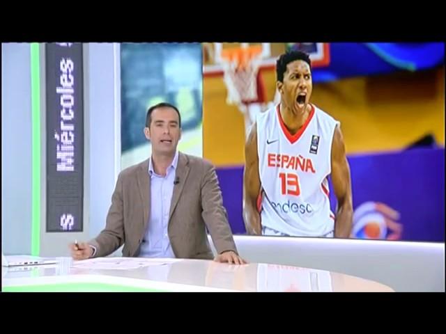 Canarias Basketball Academy | Joshua Tomaic con España (RTVC)