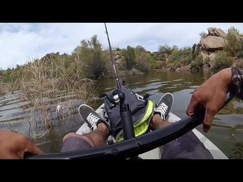 Verde River Arizona Bass Fishing | Kayaking | Ft.(Basshole_fishing)