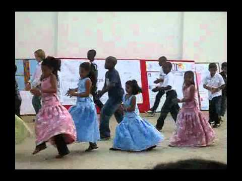 Kid's Dancing in School programme in Togo Africa