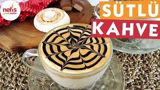 Bol Köpüklü Sütlü Kahve - Sıcak İçecek Tarifi - Nefis Yemek Tarifleri