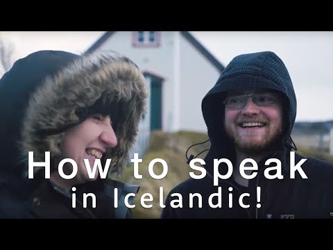 🇮🇸 How to speak Icelandic - The Icelandic language Basics 🇮🇸