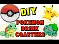 Pokemon Coasters  | DIY Project | How To | Another Coaster Friday | Craft Klatch