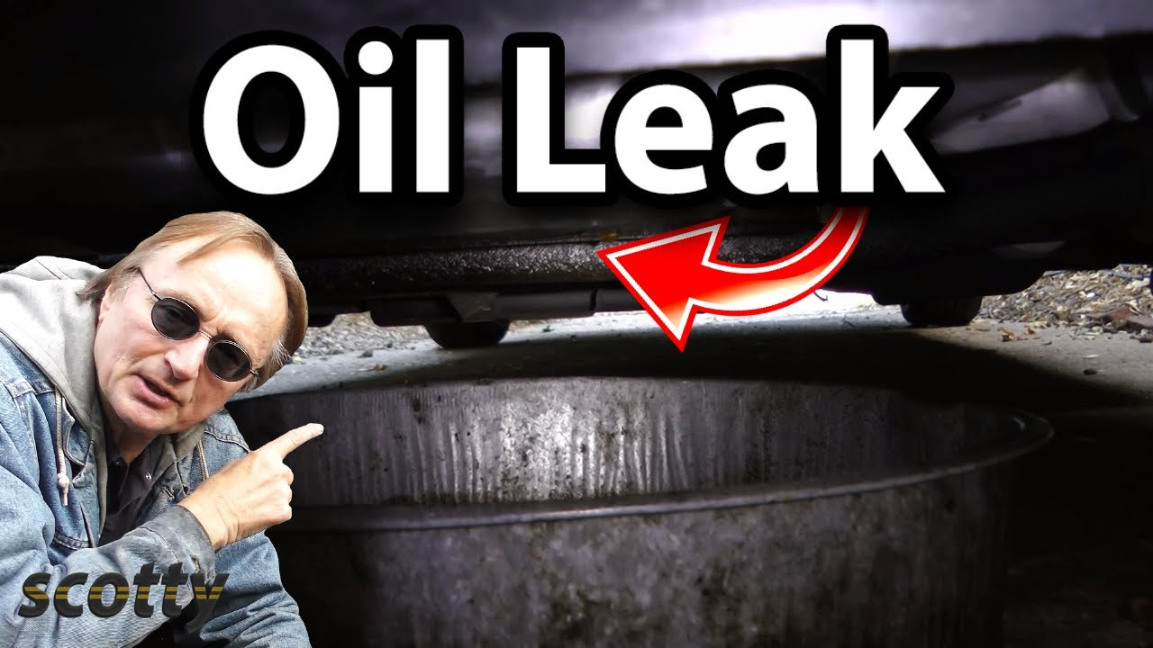 How To Find Oil Leaks In Your Car And Fix Them Youtube Taurus Electric Fan Conversion Vettemodcom