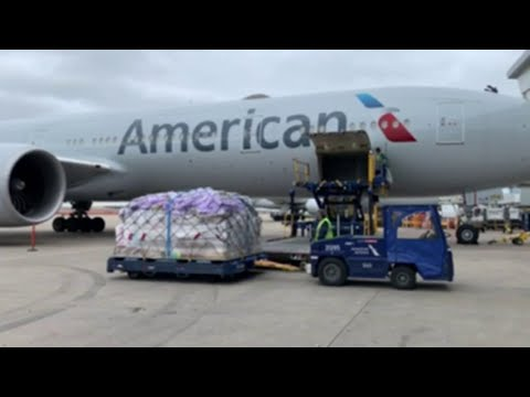 American Airlines Transports Medical Cargo From U.S. To Europe