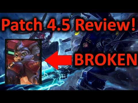 Vainglory Update 4.5 PATCH NOTES REVIEW