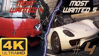 NFS: Most Wanted (2012)- Beat Lamborghini Aventador with Porsche 918 Spyder [4K ULTRA]