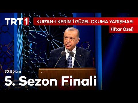 Cumhurbaşkanı Sayın Recep Tayyip Erdoğan'ın #KuranıKerimiGüzelOkumaYarışması Finali Konuşması