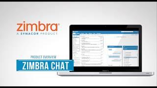 Zimbra Chat Product Overview - English thumbnail