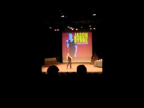 Jason Byrne - Norwich PlayHouse - Oct 2015