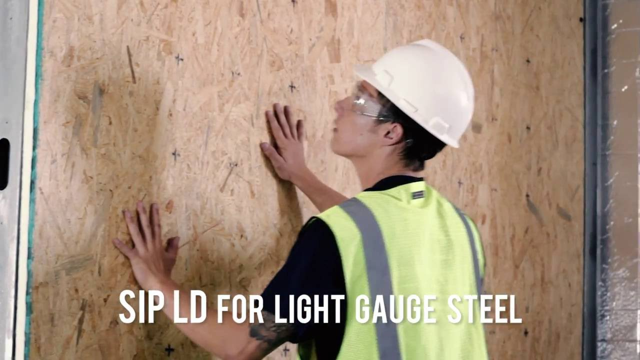 SIP Screws for Attaching Structurally Insulated Panels