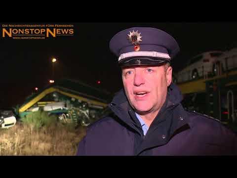 Zugunglück bei Cuxhaven | NonstopNews