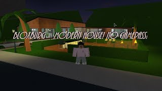ROBLOX | Welcome to Bloxburg: One Story Modern House 60K