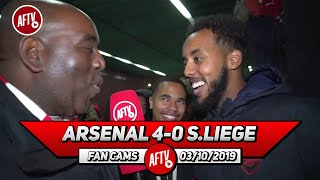 Arsenal 4-0 Standard Liege | How Are Winks & Barkley In The England Squad Over Willock?! (Livz)