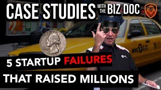 5 Startup Failures that Raised Millions - A Case Study for Entrepreneurs