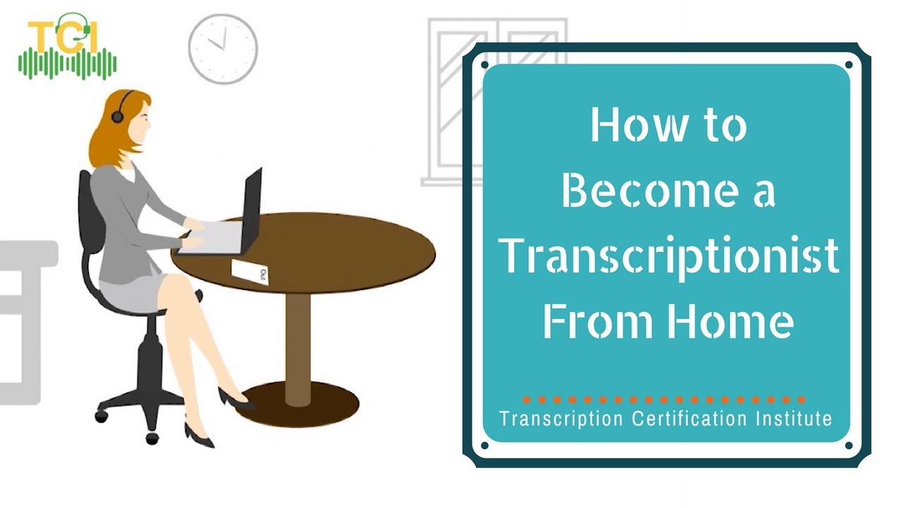 How to become a transcriptionist from home easily youtube how to become a transcriptionist from home easily transcription certification institute xflitez Image collections
