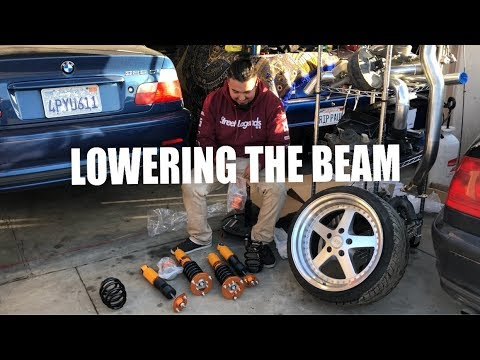 LOWERING THE BEAM ON ZYAUTO COILOVERS