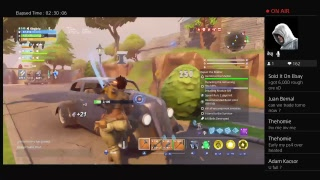 Fortnite save the world farming for giveaway Saturday