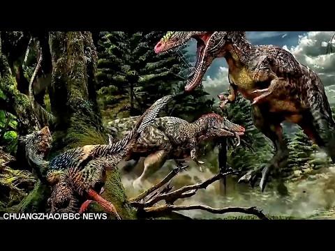 Descubren al tiranosaurio rex más espeluznante del mundo  ( Qianzhousaurus  )